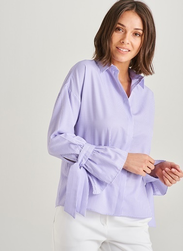 Kolu Bağlama Detaylı Gömlek-People By Fabrika